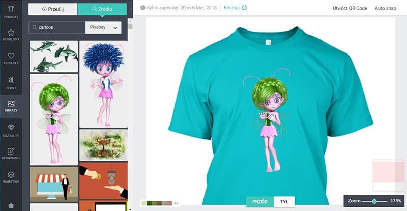 6a3295999 Najlepszy Kreator Koszulek - Zaprojektuj koszulkę z własnym nadrukiem